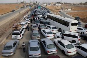 اعتصامات في الأردن للمطالبة بفتح الحدود مع سورية
