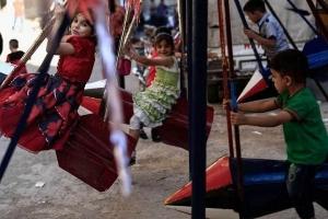 دمشق: منع المراجيح والألعاب وعربات الجر في الساحات العامة