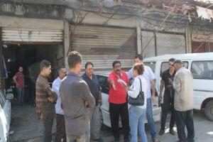 محافظة دمشق تنظم 40 الف ضبط بحق ورش تصليح السيارات خلال عام!