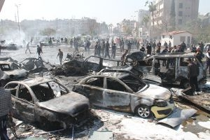 من يعوضهم؟.. في دمشق 2400 سيارة تعرضت للتدمير..منها 550 سيارة محروقة كلياً
