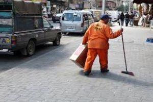 في طرطوس..100 عامل نظافة