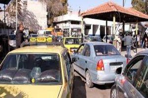 محروقات دمشق تبين سبب الازدحام على محطات الوقود