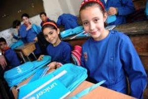 اليونسيف: توزيع حقائب مدرسية مع مستلزماتها لمليون تلميذ في المرحلة الإبتدائية