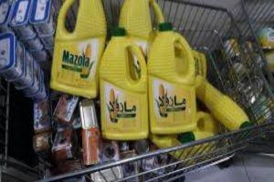مصادرة كميات كبيرة من المواد الغذائية المهربة في مولات دمشق!