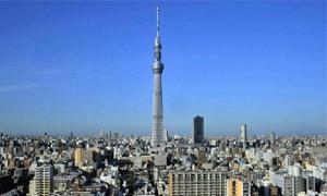 اليابان تنتهي من بناء أعلى برج في العالم