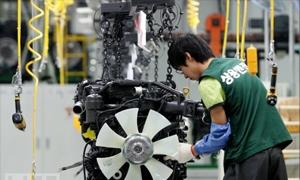 اليابان تسجل أول انخفاض في الانتاج الصناعي في ثلاثة أشهر