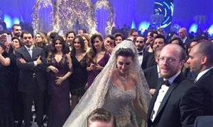 بالصور: أين في لبنان !! مليوني دولار تكاليف عرس ابنة رجل أعمال سوري