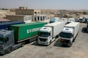 مطالب أردنية بتسهيل حركة التجارة مع سوريا