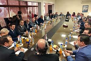 تجار وصناعيون أردنيون: سورية بوابتنا إلى أوروبا والحرب عليها أضرت بالاقتصاد الأردني