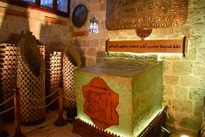 بالصور..افتتاح خان الصابون في حلب بعد إعادة تأهيله
