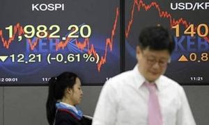 ارتفاع مؤشرات البورصة الآسيوية اليوم