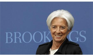 لاجارد : أتطلع لرفع تمويل صندوق النقد 400 مليار دولار