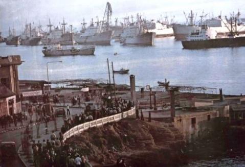 68 سفينة محملة بالبضائع في مرفأ اللاذقية آذار الماضي