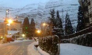 ما هي الطرق المقطوعة بالثلوج في لبنان؟