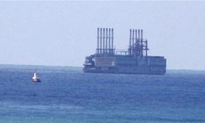 ربط الباخرة التركية بمعمل للكهرباء في لبنان