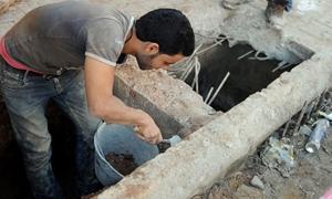 وزير الاقتصاد اللبناني يدعو لتنظيم العمالة السورية