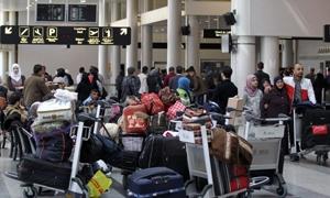 المسافرين السوريين يرفعون حركة ركاب مطار بيروت الدولي 11%خلال الربع الأول من العام الجاري