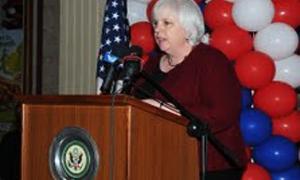 السفيرة الاميركية في لبنان: 61% من الصادرات اللبنانية تدخل إلى امريكا دون دفع تعريقات