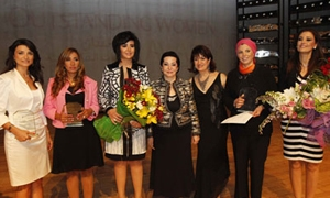 جائزة لبنان للسيّدات المتميّزات الأولى 2012