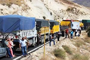 بعد أن وصل لـ100 ألف طن سنوياً..توقُّف الإستيراد والتصدير بين لبنان وسوريا