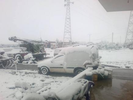 تعطيل المدارس في سورية يوم غداً بسبب تساقط الثلوج ..25 سم سماكتها في صلنفة والحرارة أدنى من معدلاتها بنحو 6 إلى 9 درجات