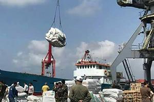 اتحاد المصدرين السوري يطلق أول سفينة شحن إلى ليبيا بحمولة 300 طن