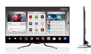 إل جي إلكترونيكس تطلق تلفاز جوجل ضمن معرض