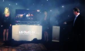إل جي تطلق أول شاشة OLED منحني بالعالم في السوق السورية