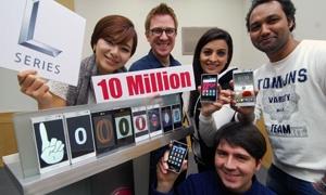 ارتفاع مبيعات إل جي ألكترونيكس من هواتفها الذكية