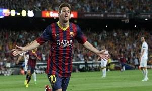 انفوغرافيك: أهداف برشلونة في دوري الأبطال وميسي يتصدر قائمة الهدافين