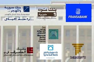 المصارف اللبنانية السبعة العاملة في سورية تخسر خلال النصف الأول2017.. الأرباح تتراجع 96 بالمئة