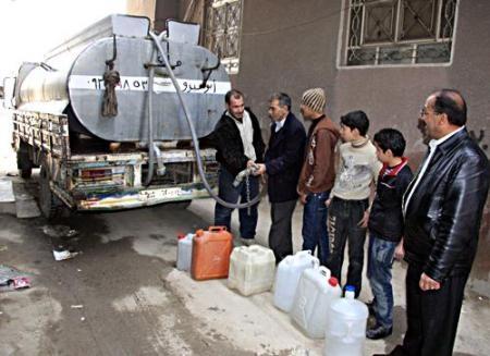 72 مليون متر مكعب العجز السنوي بدمشق.. و6 آلاف ليرة مصروف العائلة شهرياً لشراء مياه الشرب