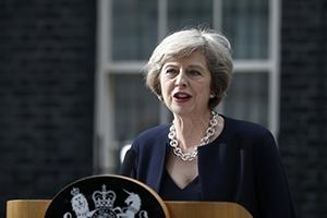 ماي: سأجعل بريطانيا رائدة في التبادل الحر
