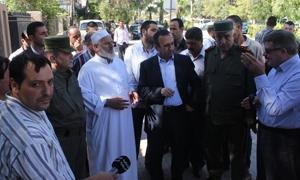 محافظ ريف دمشق يتفقد ما تم إنجازه في دوما