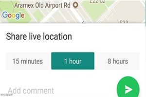 كيف تراقب وتعرف مواقع الآخرين مباشرة عبر واتساب.. والعكس