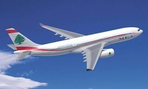 تراجع  أرباح الطيران اللبناني بنسبة 55.5% بفعل زيادة اسعار النفط