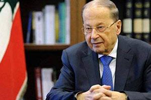 رئيس لبنان يحث على ( التضحية ) مع مناقشة تخفيضات الميزانية