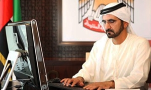 رئيس الوزراء الإماراتي: تدفقات دول الربيع العربي على الإمارات 8 مليارات دولار
