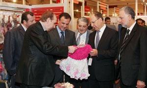 إقبال عربي على المنتجات السورية في معرض موتكس