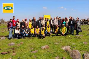شركة MTN سوريا ترعى ختام موسم التشجير ضمن حملة ( الأيادي الخضراء) لإعادة الحياة للغابات السورية
