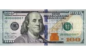 أمريكا تعلن عن طرح ورقة نقدية جديدة من فئة المئة دولار للتداول في تشرين الأول القادم