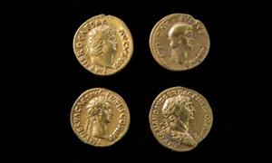 اكتشاف عملات ذهبية تعود الى ما يقرب الف عام قرب تل أبيب