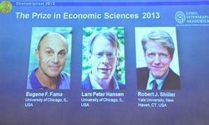 منح جائزة نوبل للاقتصاد لثلاثة أمريكيين
