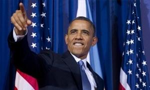 اوباما يقرر اقتطاع خمسة بالمئة من راتبه