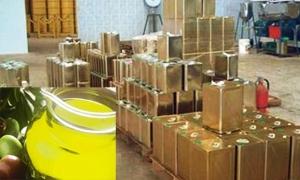 طرطوس: مصادرة 36 تنكة زيت زيتون مخالفة..وإغلاق محطة وقود تبيع مازوت مخلوط بالماء