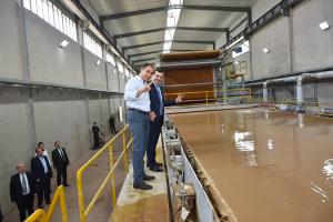سوريا..إفتتاح مصنع لإعادة تصنيع و تدوير الورق بطاقة إنتاجية 150 طن يومياً