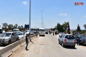 إعادة افتتاح أتوستراد حمص حماه الدولي بعد توقفه 7 أعوام