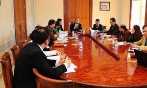 اجتماع في هيئة التخطيط الإقليمي حول خارطة الاستثمارات السورية