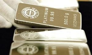 محللون: أسعار البلاتين قد ترتفع فى 2013 بسبب شح المعروض