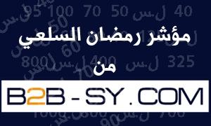 مؤشر رمصان السلعي من B2B : الأسعار  تنخفض بنسبة 25% مع بداية الاسبوع الثاني من شهر رمضان